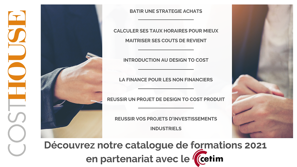 Formations Cost House Performance économique industrielle