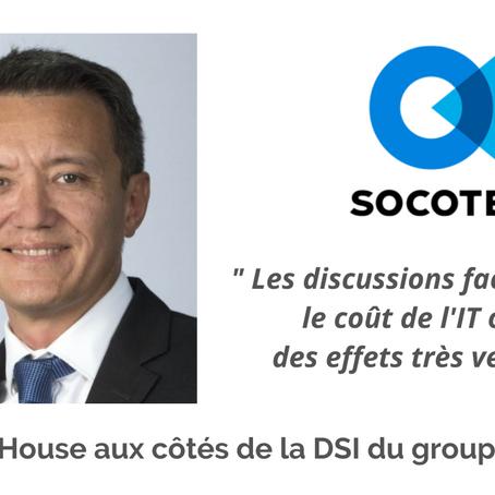 Cost House aux côtés de la DSI du groupe Socotec !