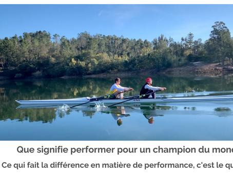 La définition de la performance selon Matthieu Androdias