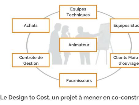 Le Design to Cost, un projet à mener en co-construction