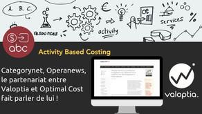 Coup de projecteur sur le partenariat entre Optimal Cost et Valoptia