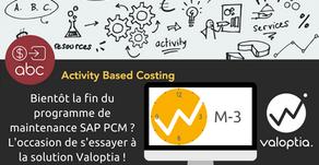 Bientôt la fin de la maintenance de SAP PCM? Optez pour Valoptia !