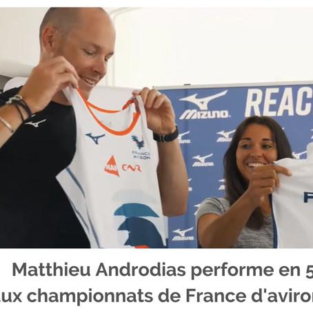 Nouvelle victoire pour notre champion d'aviron !