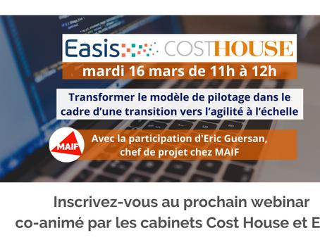 Webinar Easis/Cost House : les inscriptions sont ouvertes !