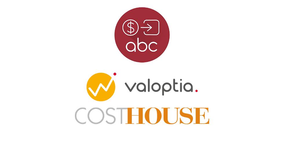"""Séminaire de formation ABC du Groupe Cost House - Valoptia """" Les avantages d'un modèle de coûts """""""