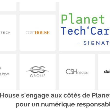 Cost House s'engage aux côtés de Planet Tech'Care