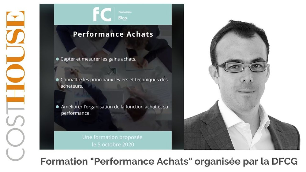 Formation Performance Achats DFCG