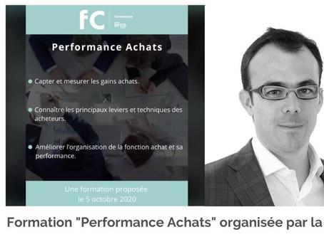 """Formation """"Performance Achats"""" à la DFCG"""