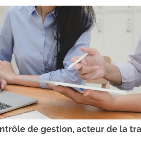 Le contrôle de gestion, acteur de la transformation des entreprises