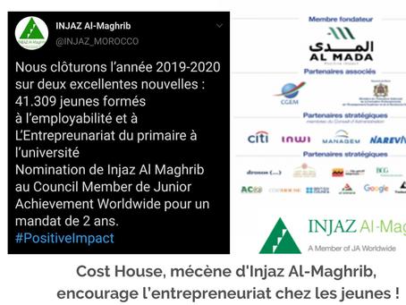 Cost House encourage l'entrepreneuriat chez les jeunes via l'association Injaz Al-Maghrib