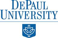 DePaul logo SECONDARY configuration (746