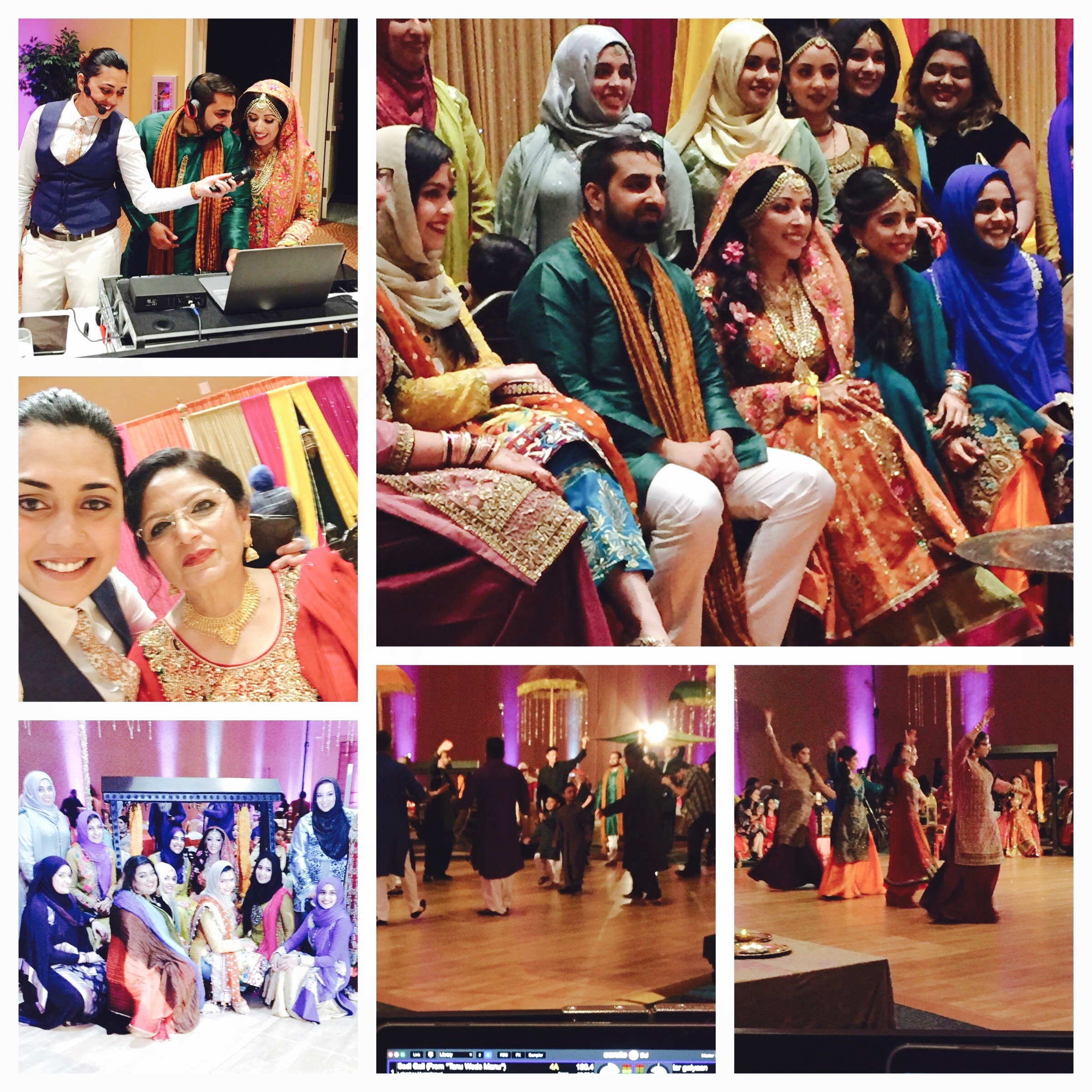 Aqsa and omar's mehndi/henna night
