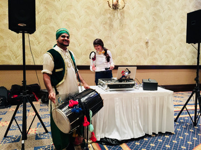 your dj with the awesome Dholi mutual G!