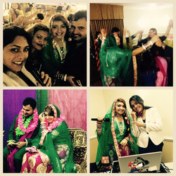Sanam and Adnan wedding