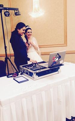 syrian bride mc-ing!