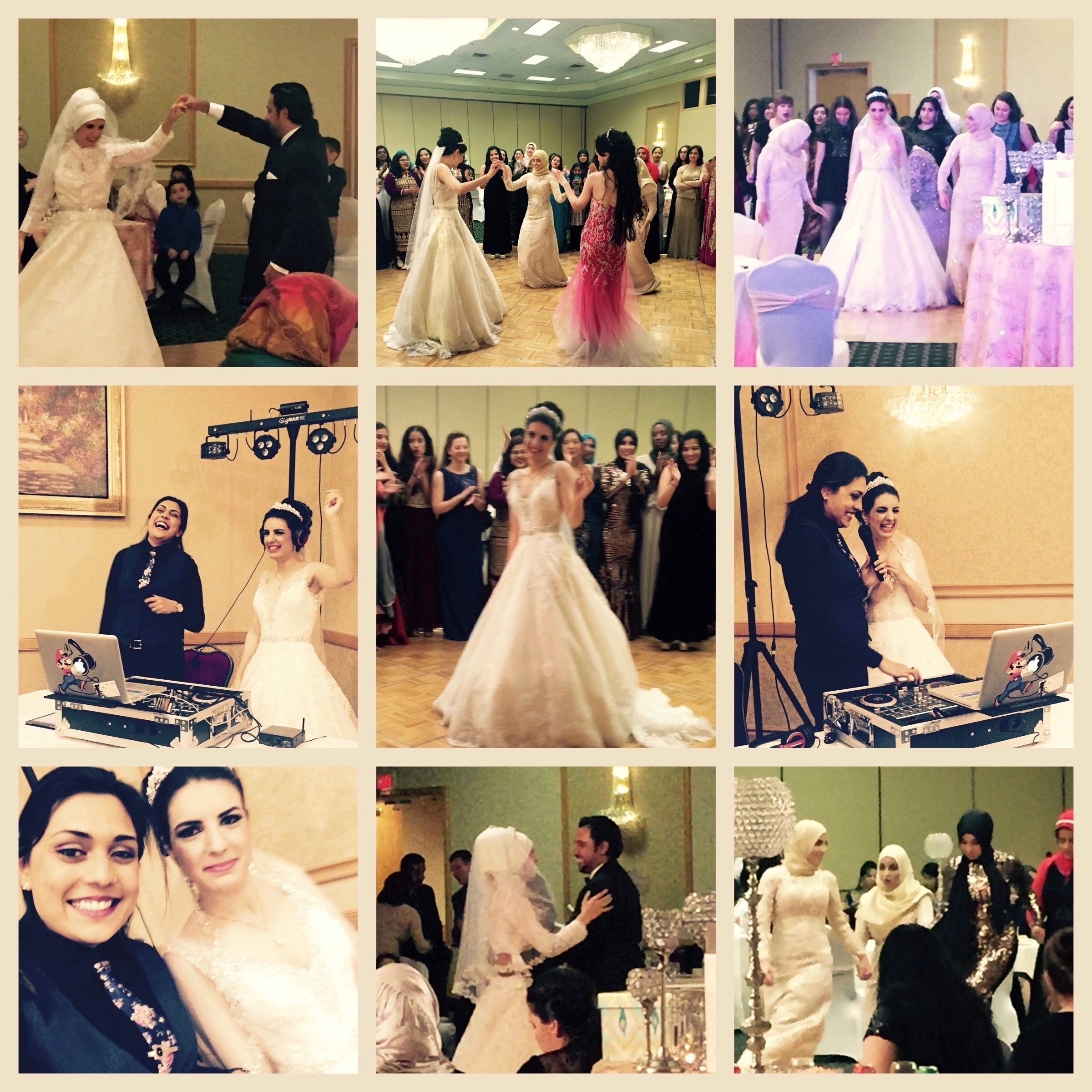 Dua and Ibrahim wedding