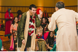 groom saluting :)