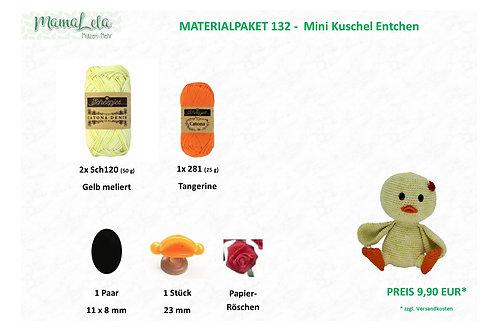 Mini Kuschel Entchen - Materialpaket