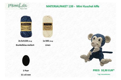 Mini Kuschel Affe - Materialpaket