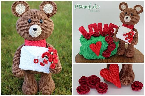 "TEDDY ""Be my Valentine"""