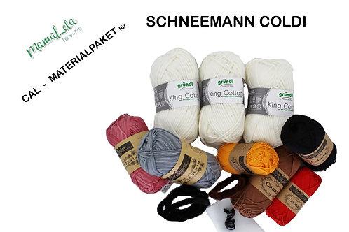 Schneemann Coldi - Materialpaket