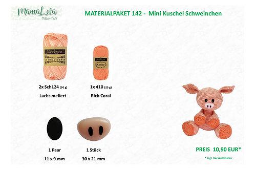 Mini Kuschel Schweinchen - Materialpaket