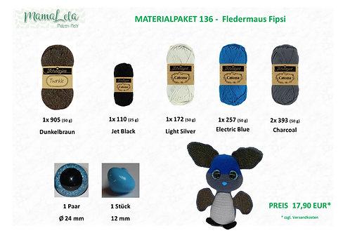 "CAL ""Fledermaus Fipsi"" - MATERIALPAKET"