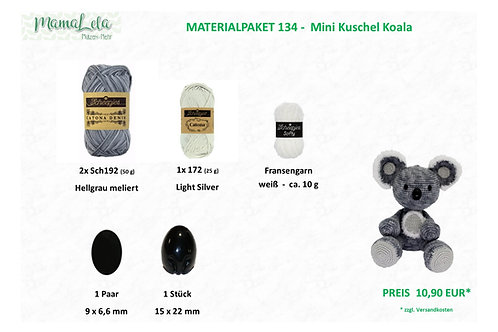 Mini Kuschel Koala - Materialpaket