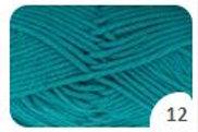 Gründl King Cotton - 12 türkisgrün
