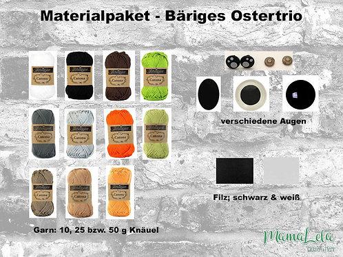 BÄRIGES Ostertrio - Materialpaket