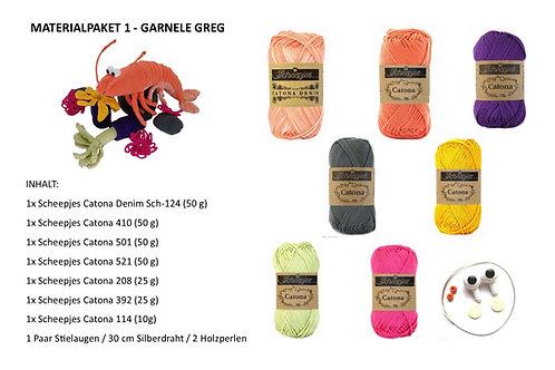 GARNELE GREG - Materialpaket