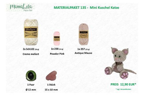 Mini Kuschel Katze - Materialpaket