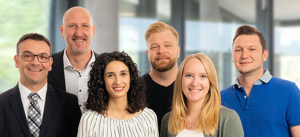 Tesch Mitarbeter Gruppenfoto der Diamant-Gesellschaft Tesch GmbH