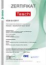 Qualitätszertifikat VDA 6.4 deutsch der Diamant- Gesellschaft Tesch GmbH