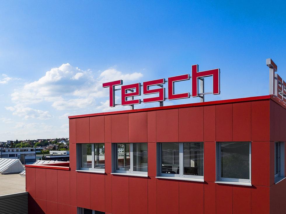 Luftaufnahme Gebäude von Diamant- Gesellschaft Tesch GmbH