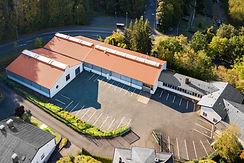Luftaufnahme der Produktionsstätte in Idar Oberstein der Diamant- Gesellschaft Tesch GmbH