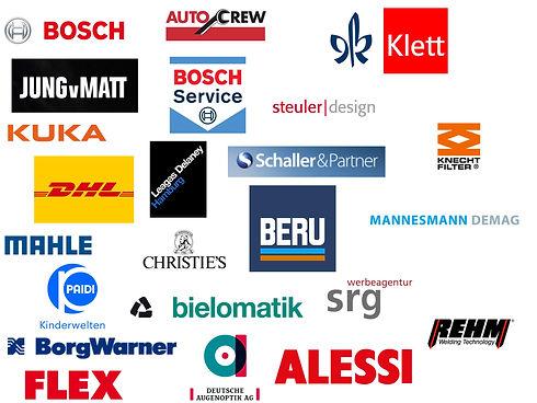 Coolage über die Kunden der Werbefotografie Blühdorn GmbH Fellbach Stuttgart