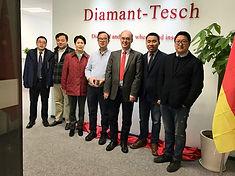 Mitarbeiter in China der Diamant- Gesellschaft Tesch GmbH