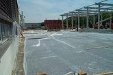Baustelle der Produktionsstätte in Ludwigsburg der Diamant- Gesellschaft Tesch GmbH
