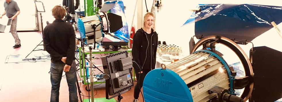Shooting und Videodreh bei Außenaufnahmen der Werbefotografie Blühdorn GmbH Fellbach Stuttgart.