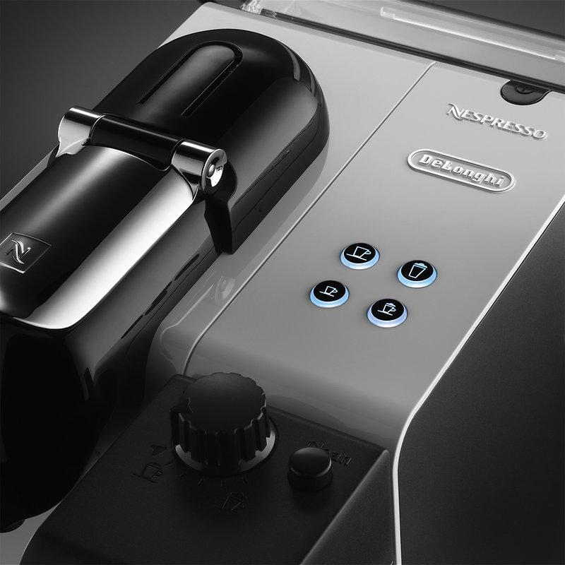 Produktaufnahme für den Kunden Nespresso De Longhi durch die Werbefotografie Blühdorn GmbH Fellbach Stuttgart.