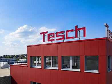 Luftaufnahme des Gebäude der Diamant- Gesellschaft Tesch GmbH