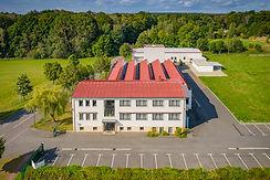 Luftaufnahme der Produktionsstätte in Döbern der Diamant- Gesellschaft Tesch GmbH