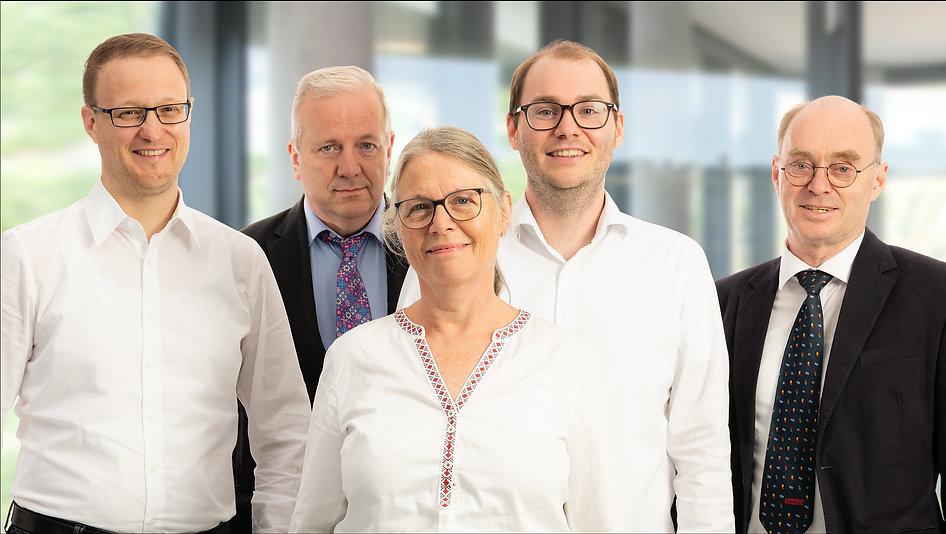 Vorstand Gruppenaufnahme der Diamant- Gesellschaft Tesch GmbH