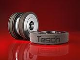 Schleifscheiben mit Laser Mikrostrukturierung der Diamant- Gesellschaft Tesch GmbH