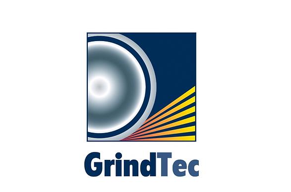 Logo und Banner der GrindTec in Augsburg