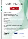 Qualitätszertifikat VDA 6.4 englisch der Diamant- Gesellschaft Tesch GmbH
