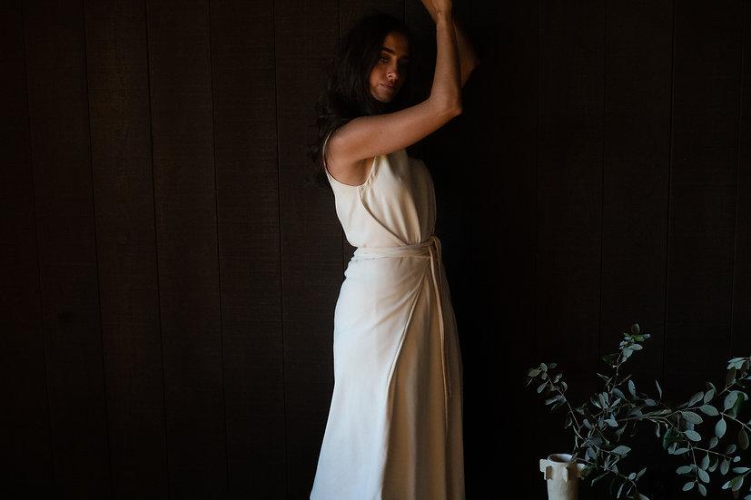 esilin dress in organic cotton rib