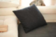 Kvadrat wool pillpow by Herderin