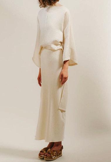 yona skirt in vermont merino wool